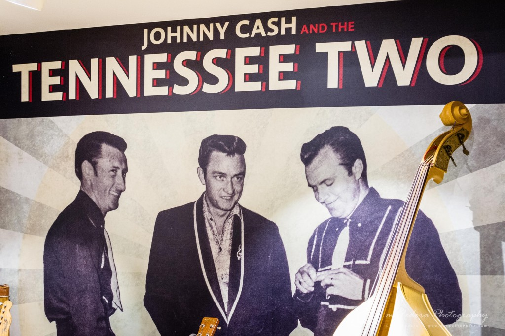 Johnny Cash and the Tennessee Two Johnny Cash's first band.