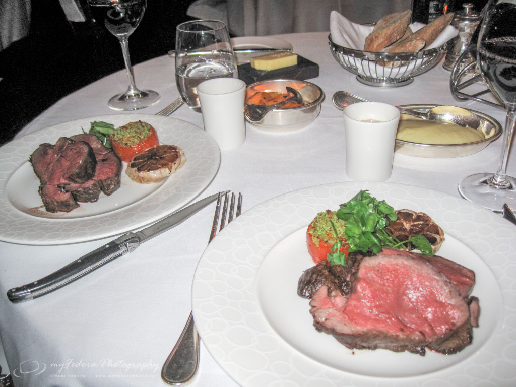 Our amazing Chateaubriand for two, 22oz of delicious, perfectly cooked beef.